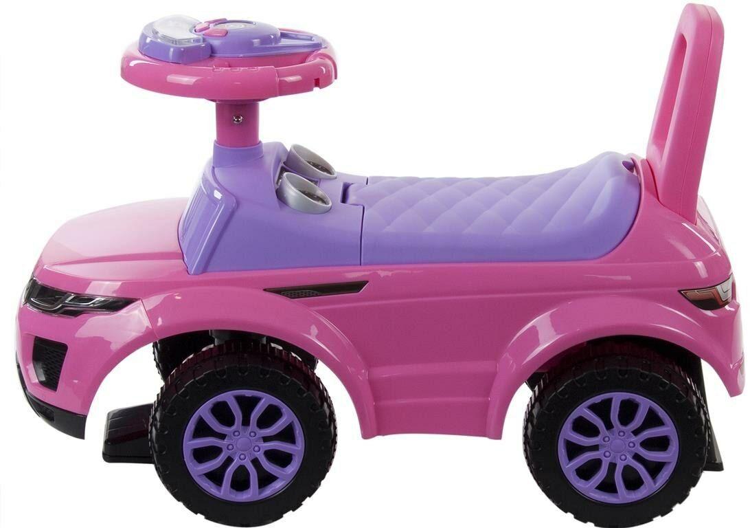 Samochodzik jeździk dla dzieci różowy SUNBABY