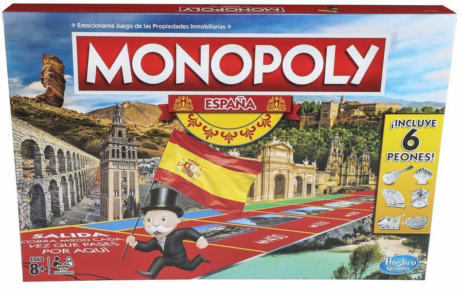 Hasbro  Gra Monopoly Hiszpania (1654e)