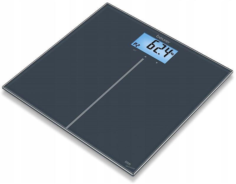 BEURER GS 280 Genius BMI Waga szklana Genius z funkcją obliczania BMI