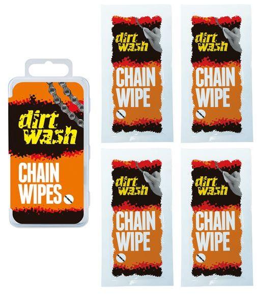 WELDTITE chusteczka do czyszczenia łańcucha dirtwash 4x WLD-04030,5013863040309