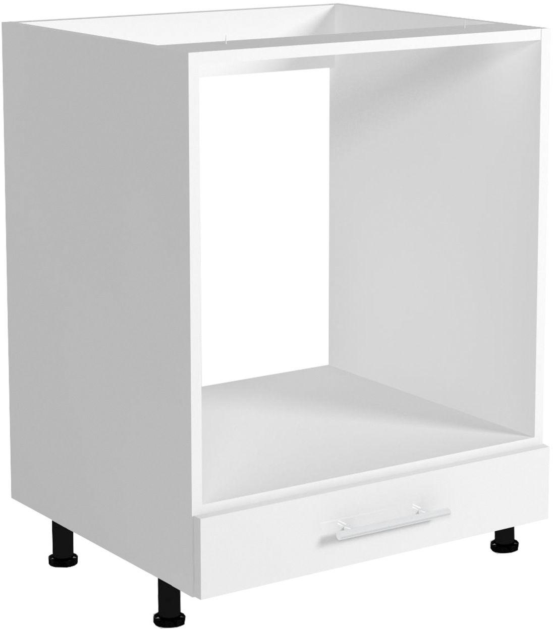 VENTO DP-60/82 szafka dolna pod zabudowę piekarnika front: biały, szuflada Halmar