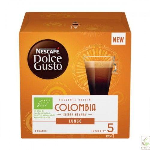 NESCAFE DOLCE GUSTO Lungo Colombia 12 kapsułek BIO