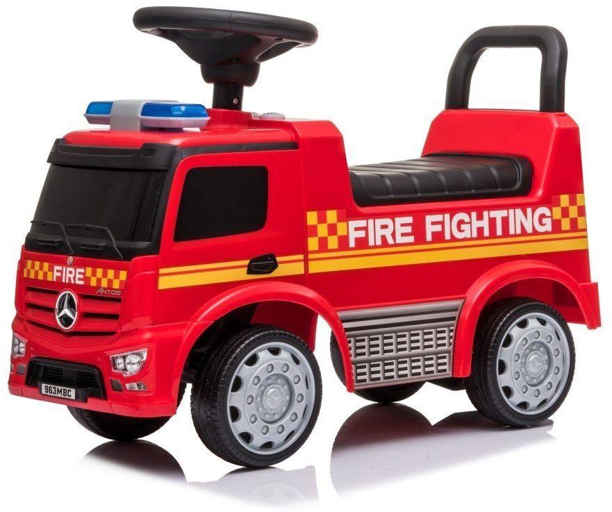 Jeździk Mercedes Antos Straż Pożarna Sun Baby