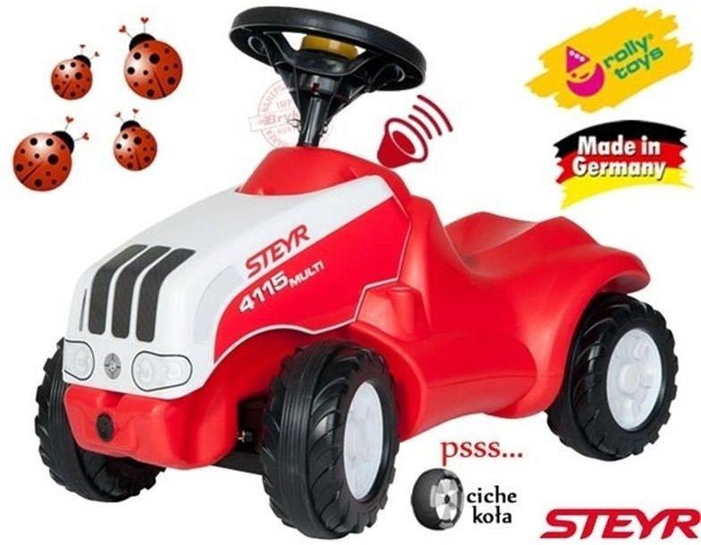 Jeździk Pchacz Steyer Traktor Klakson - Rolly Toys rollyMinitrac