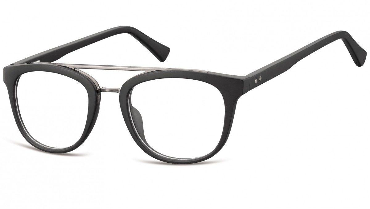 Okulary oprawki korekcyjne Nerdy zerówki Sunoptic CP135
