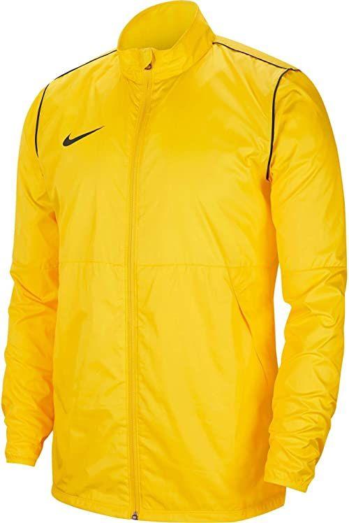 Nike Męska kurtka przeciwdeszczowa Park20 Tour Żółty/Czarny (Czarny) S