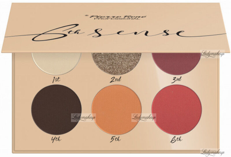 Pierre René - 6TH SENSE - EYESHADOW PALETTE - Paleta cieni do powiek - No. 06 - Colorado Springs
