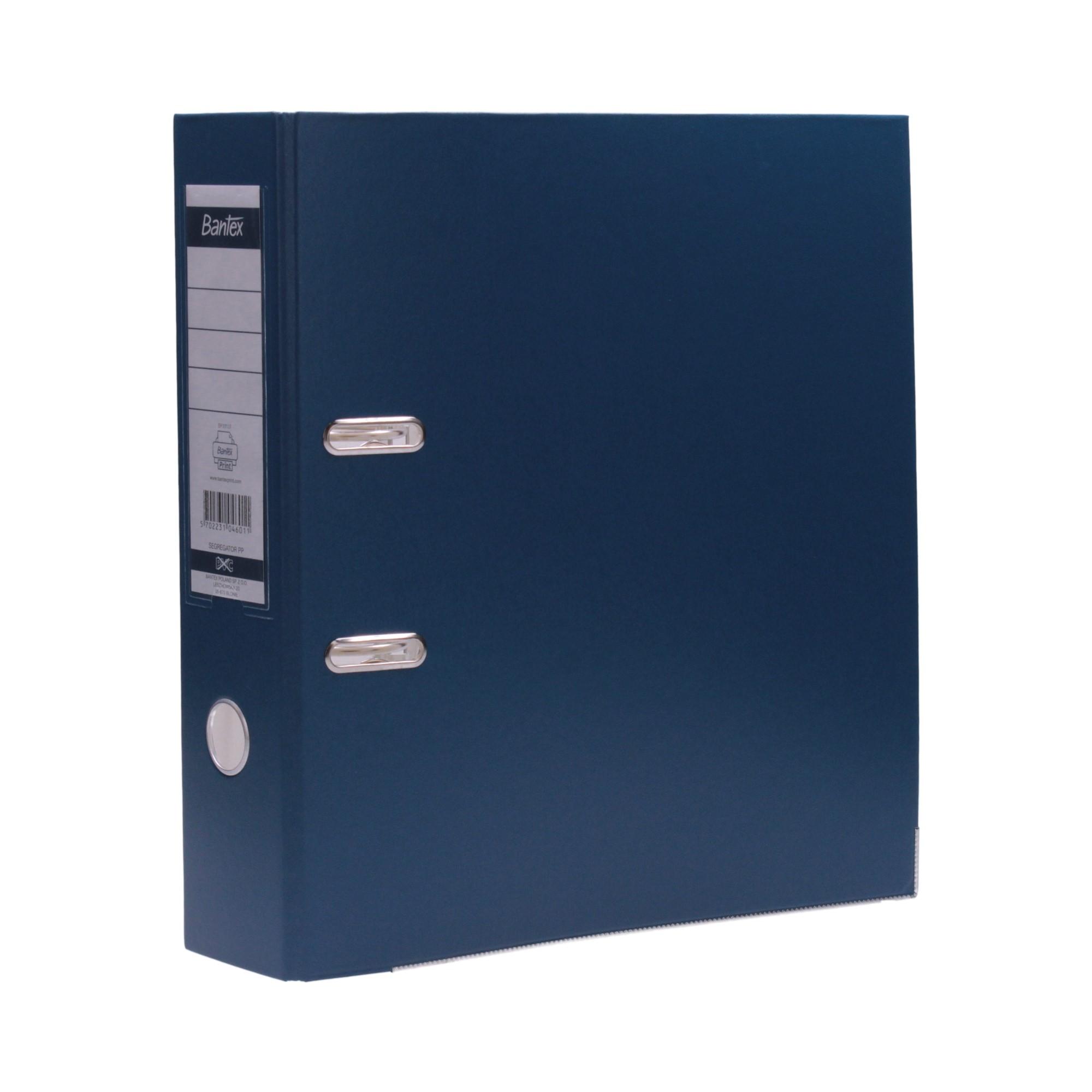Segregator A4/80 niebieski XXL Bantex