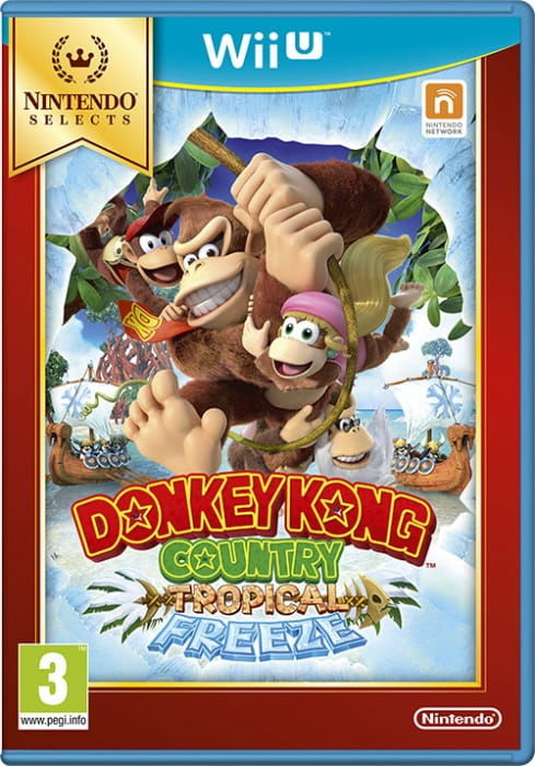 Gra Donkey Kong Country: Tropical Freeze Nintendo Selects (WiiU)
