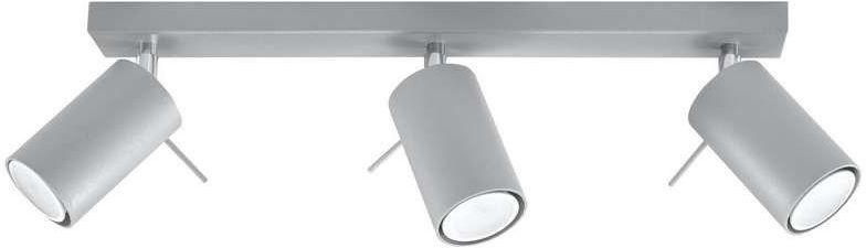 Sollux - plafon ring 3 szary