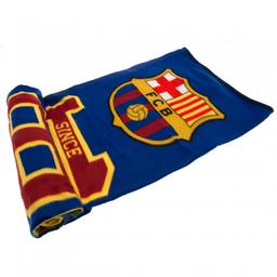 FC Barcelona - koc polarowy