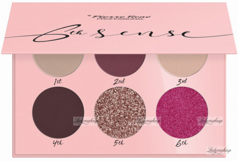 Pierre René - 6TH SENSE - EYESHADOW PALETTE - Paleta cieni do powiek - No. 05 - Vivid Clouds