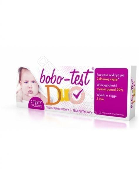 Test Ciążowy Bobo-test Duo 2 sztuki