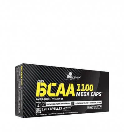 Aminokwasy BCAA Mega Caps 120 kaps Olimp