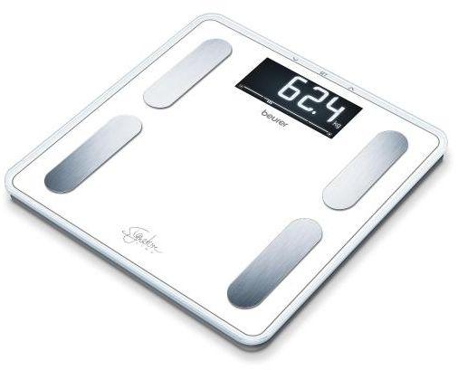 BEURER BF 400 white Waga diagnostyczna XL z analizą składu ciała, biała Bluetooth