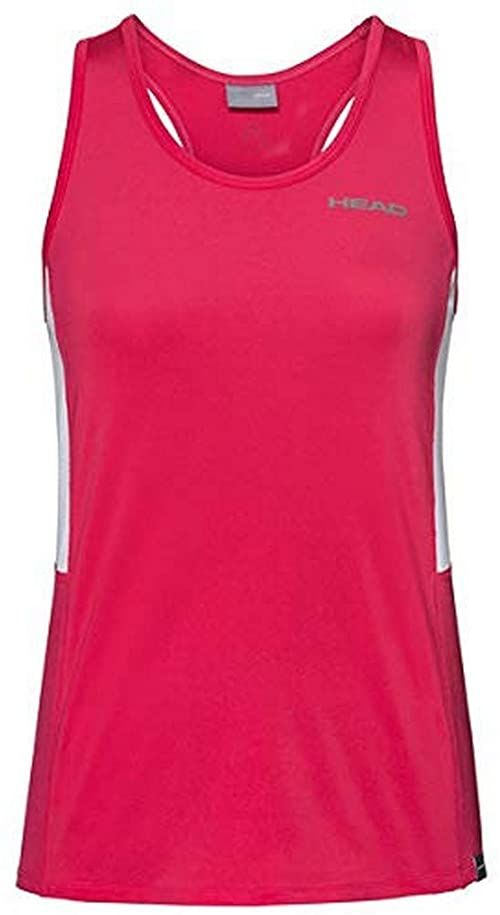 Head CLUB Tank Top W koszulka damska, czerwona, XXL