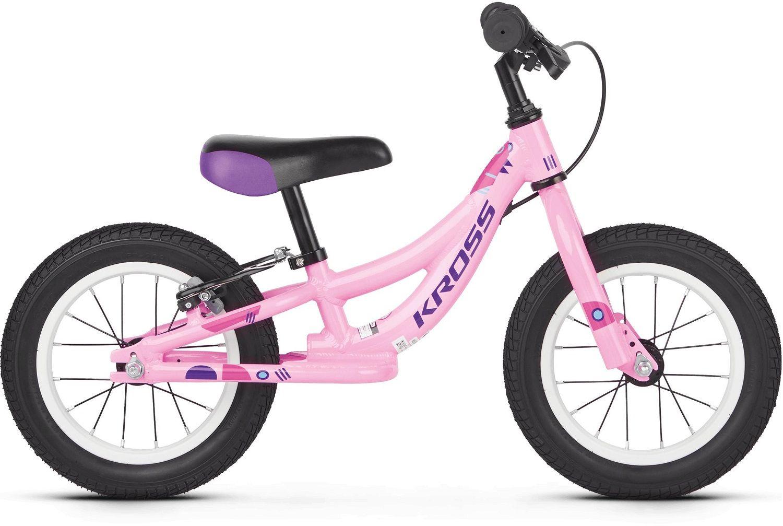 Rower Kross Kido 12 Da 2019 różowo fioletowy