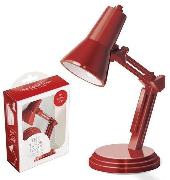 The Book Lamp - lampka do książki - czerwona