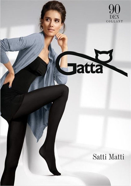 Gatta Satti Matti 90 - Tights Nero
