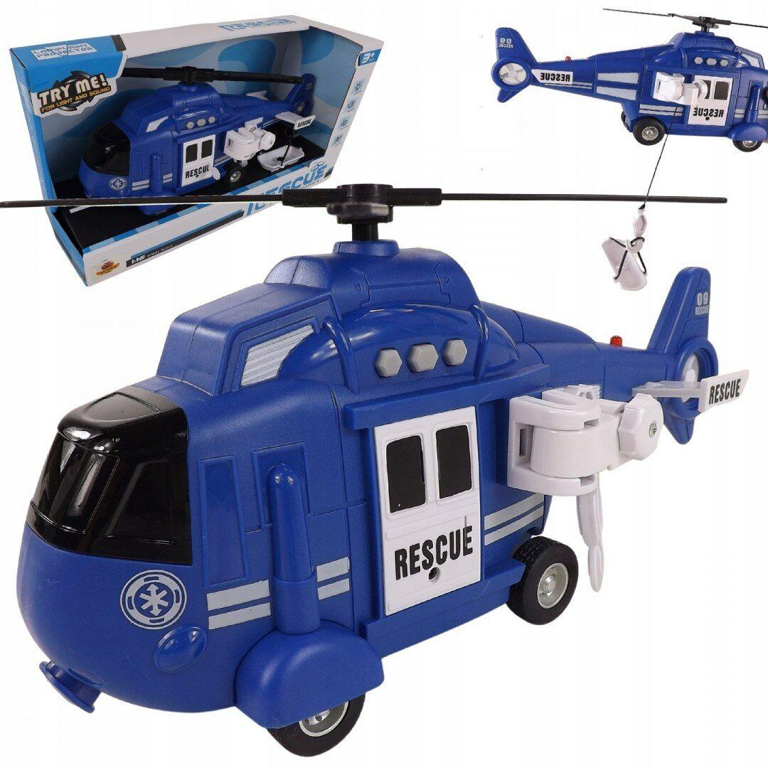 Helikopter ratunkowy policja dźwięki wciągarka 3A