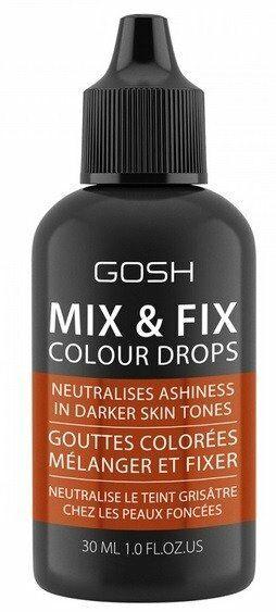 GOSH Mix&Fix Colour Drops 005 Masala Mixer do przyciemniania podkładów 30ml