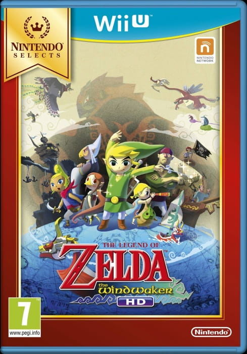 Gra The Legend of Zelda Wind Waker HD Nintendo Selects (WiiU)