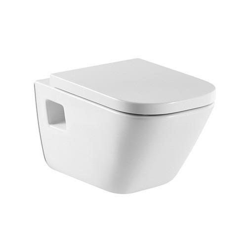 Roca Gap miska WC wisząca + Deska wolnoopadająca A346477000+A80148200U ____NIE ZARABIAMY NA WYSYŁCE:)____