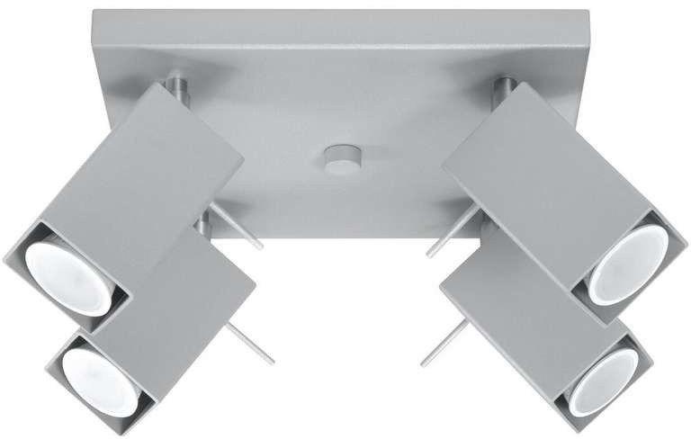 Sollux - plafon merida 4 szary