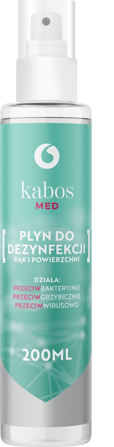 Kabos Med Płyn do dezynfekcji rąk i powierzchni 200ml