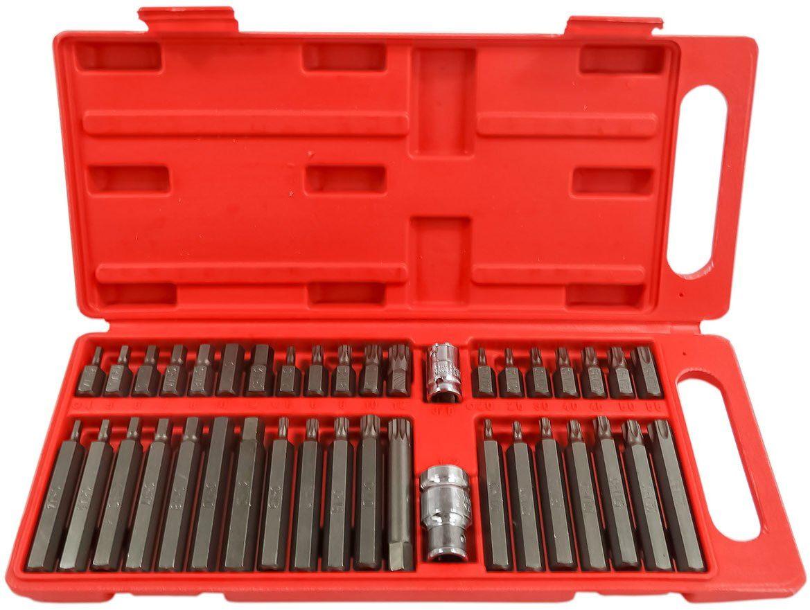 Zestaw bitów bity torx hex spline 40 sztuk pudełko