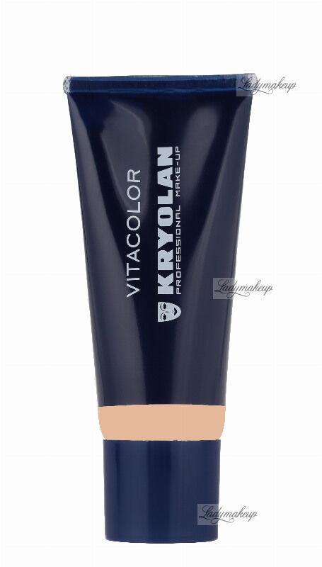 KRYOLAN - VITACOLOR - Cream Foundation With High Covering Powder - Mocno kryjący podkład - 40 ml - ART. 1021 - OB 1