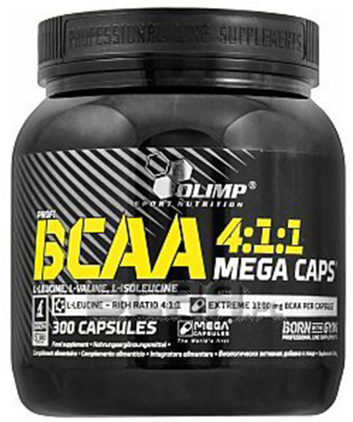 KLON_Olimp BCAA Mega Caps 1100 mg kaps. 1,25g 300kaps