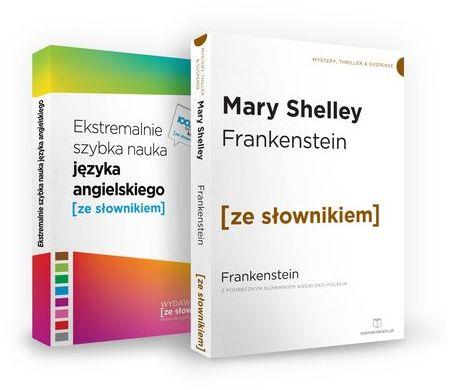 Frankenstein / Ekstremalnie szybka nauka języka angielskiego ZAKŁADKA DO KSIĄŻEK GRATIS DO KAŻDEGO ZAMÓWIENIA