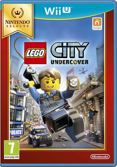 Gra LEGO City Undercover Nintendo Selects (WiiU)