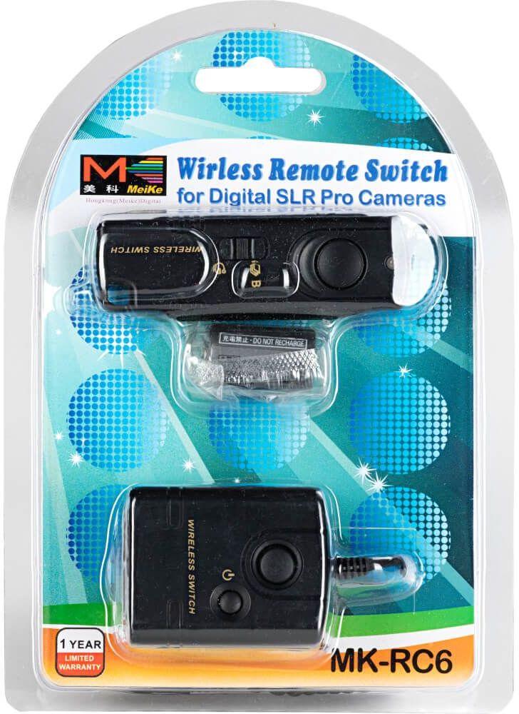 Wyzwalacz MeiKe RC-6 radiowy wężyk Nikon MC-DC1