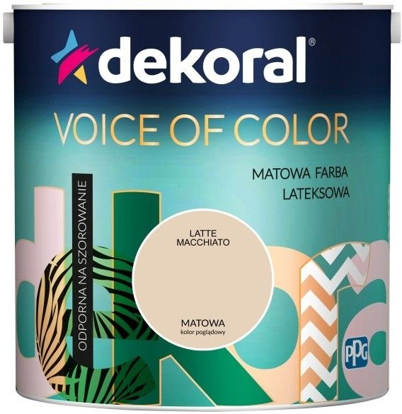 Farba Dekoral Voice of Color latte macchiato 2,5 l