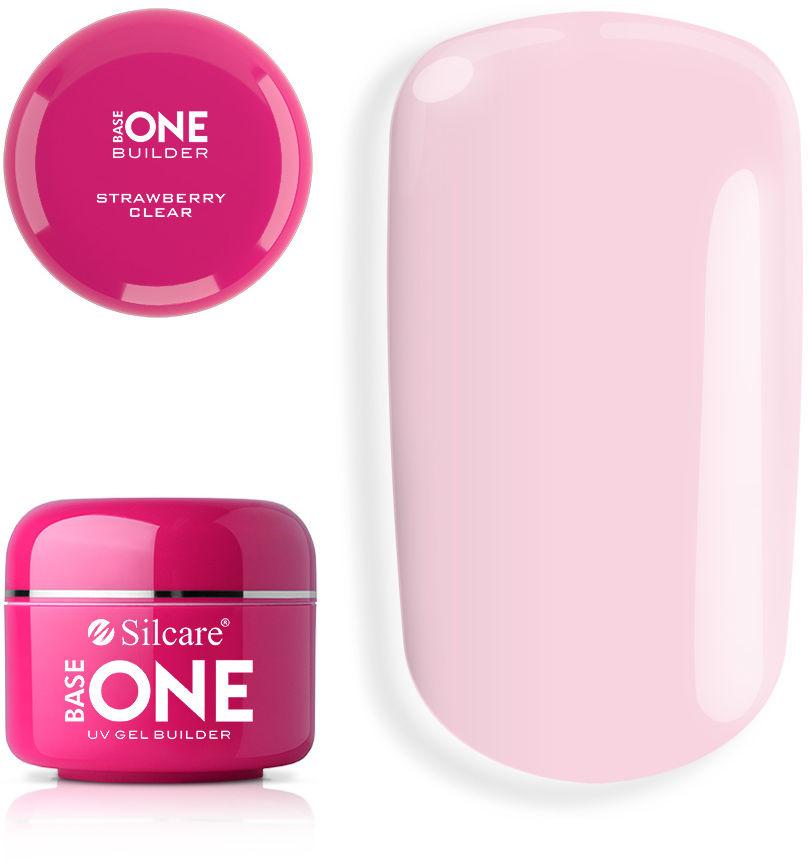 Base One Żel UV Clear Strawberry 15 g