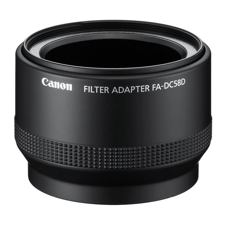 Adapter do filtrów Canon FA-DC58D
