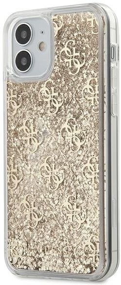 "Guess GUHCP12SLG4GSLG iPhone 12 Mini 5,4"" złoty/gold hardcase 4G Liquid Glitter Guess / GUE000868"