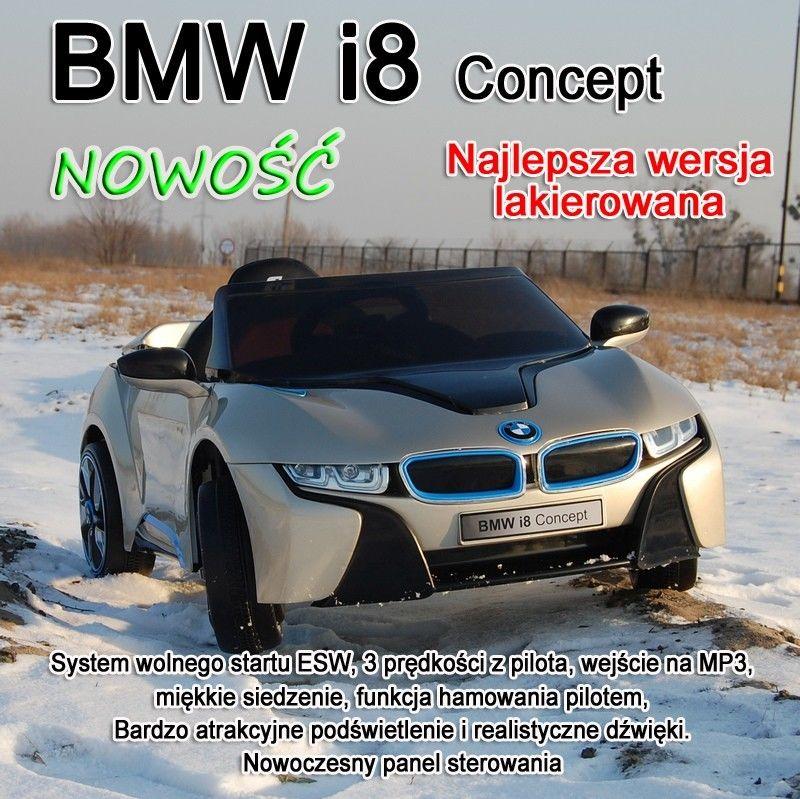 ORYGINALNE BMW i8 CONCEPT W NAJLEPSZEJ WERSJI, LAKIER/168