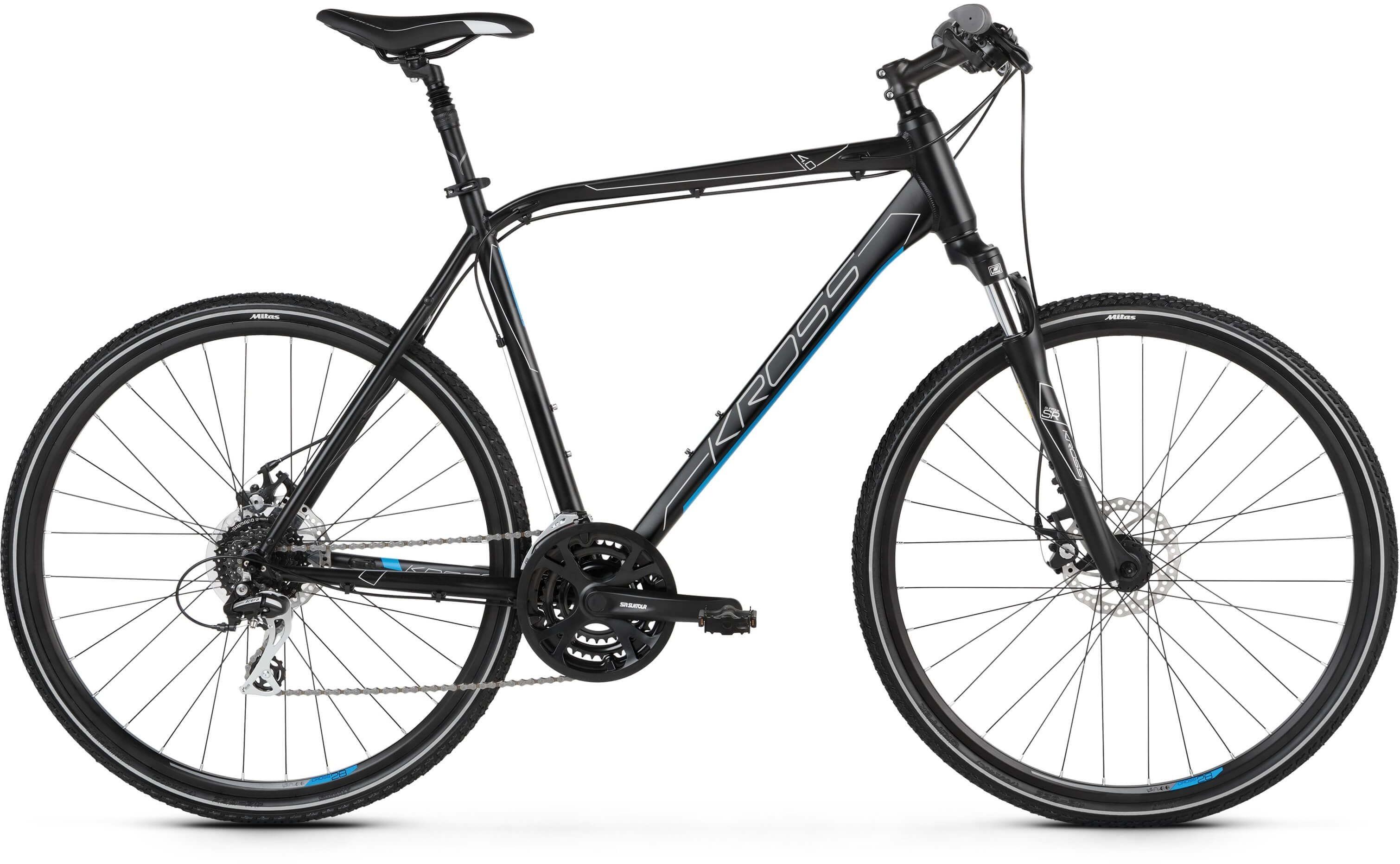 "Rower Kross EVADO 4.0 czarny 28"" 2021"