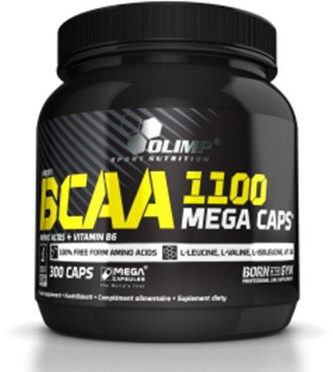 Olimp BCAA Mega Caps 1100 mg kaps. 1,25g 300kaps