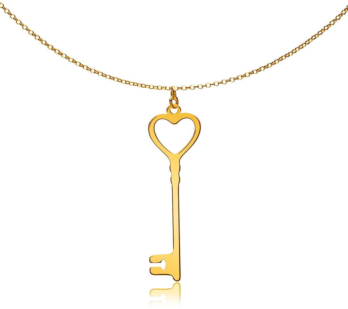 Naszyjnik kluczyk