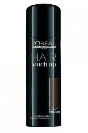 LOréal Professionnel Hair Touch Up korektor do odrostów i siwych włosów odcień Light Brown 75 ml