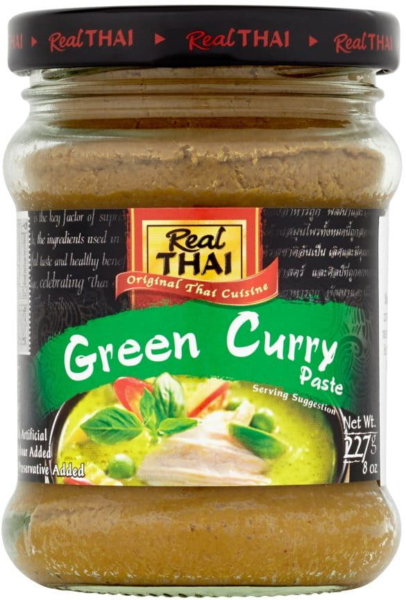 Pasta Curry Zielona Green 227g - Real Thai