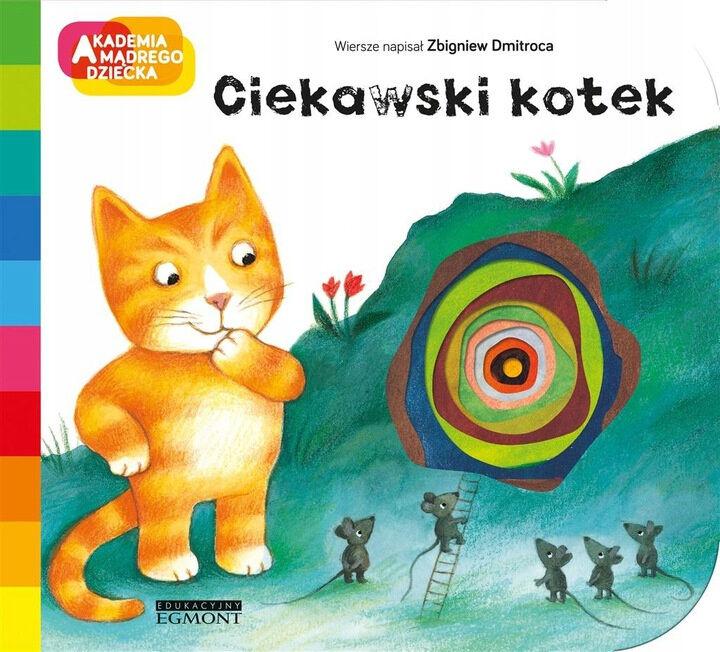 Akademia Mądrego Dziecka Ciekawski kotek