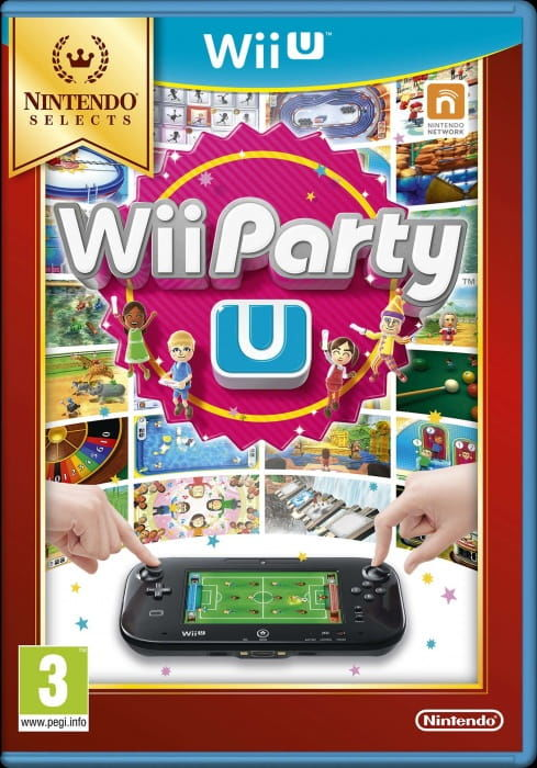 Gra WiiU Party U Nintendo Selects (WiiU)