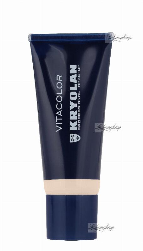 KRYOLAN - VITACOLOR - Cream Foundation With High Covering Powder - Mocno kryjący podkład - 40 ml - ART. 1021 - IVORY