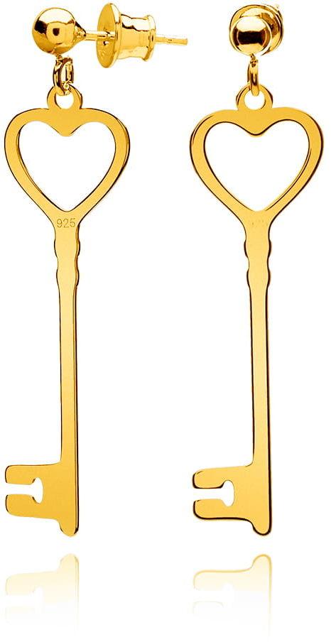 Kolczyki kluczyki