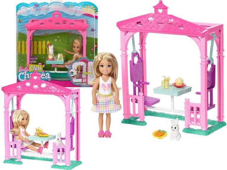 Barbie - Chelsea Piknikowa altanka FDB34